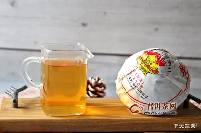 下关新品2019年云南紧茶上市,浓酽普洱味!
