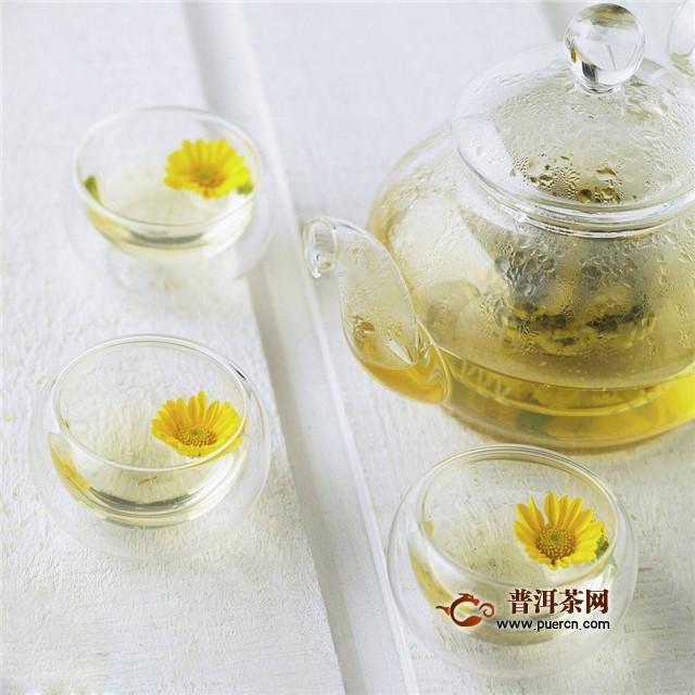 买菊花茶,