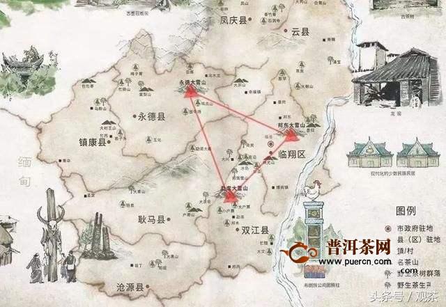 勐库大雪山地理位置