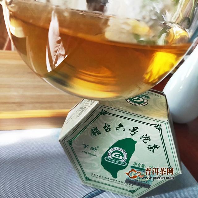 带梗的茶更富有特色:2012年下关销台六号沱茶生茶试用报告