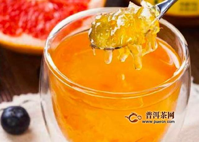 喝蜂蜜柚子茶有什么好处