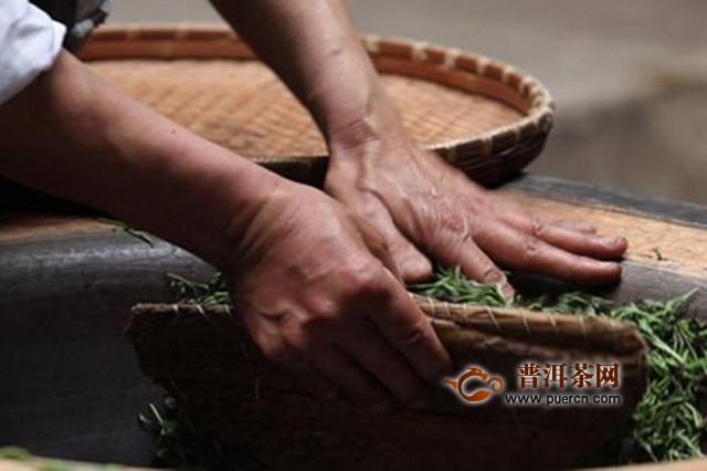 龙峰茶制作工艺