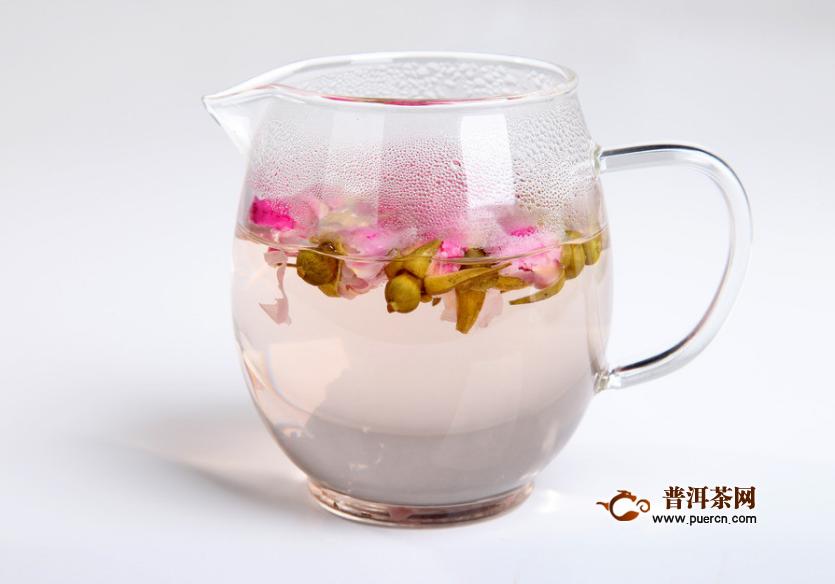 玫瑰花茶遇热水变蓝色,玫瑰花茶怎么冲泡?