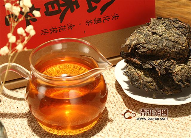 金花茯茶什么味道?