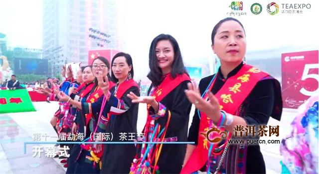 茶乡勐海誉九洲,茶王盛宴震中华 第十一届勐海(国际)茶王节主活动日圆满结束!