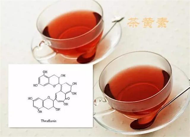 普洱茶中的色素研究(三)茶黄素类