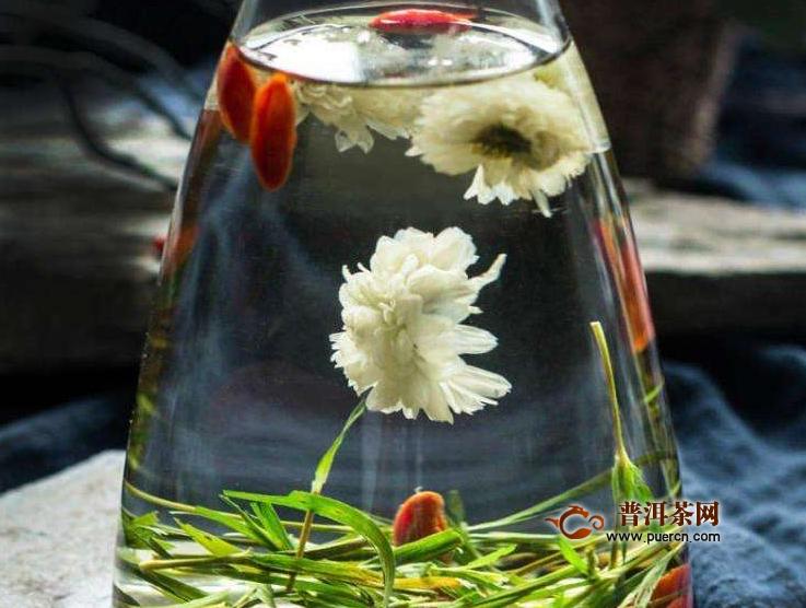 山楂玫瑰菊花茶的功效