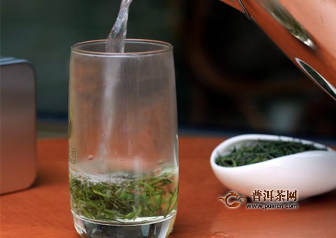 玻璃杯泡茶步骤