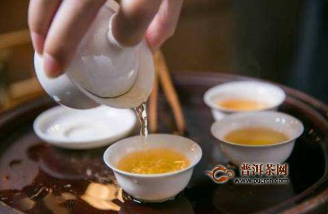盖碗泡茶手法