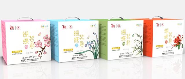 中茶2019年蝴蝶茗君白茶饼(5923)上市
