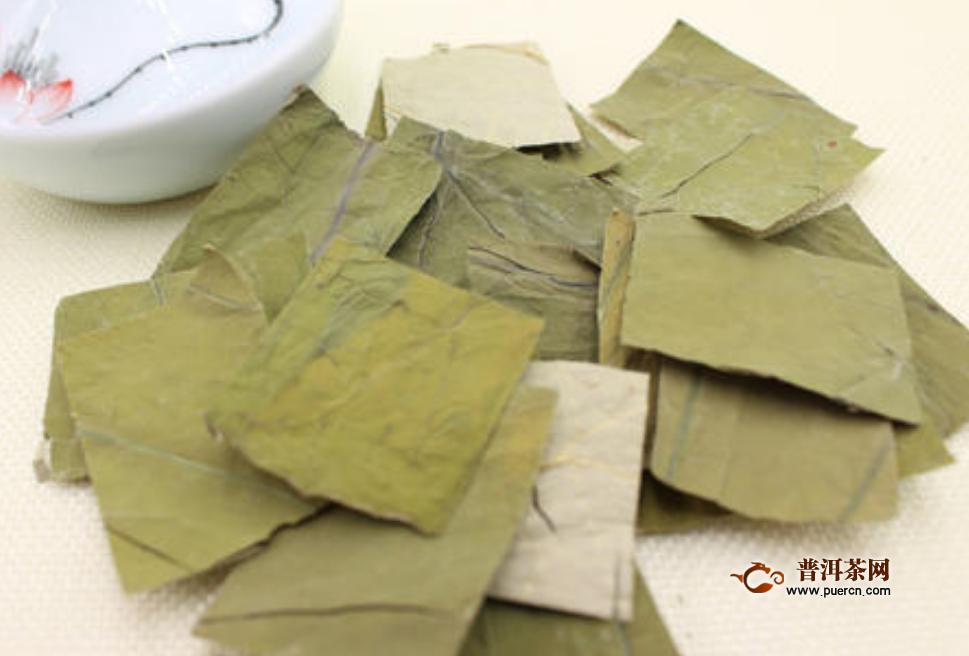 荷叶茶如何制作方法,荷叶茶的制作方式