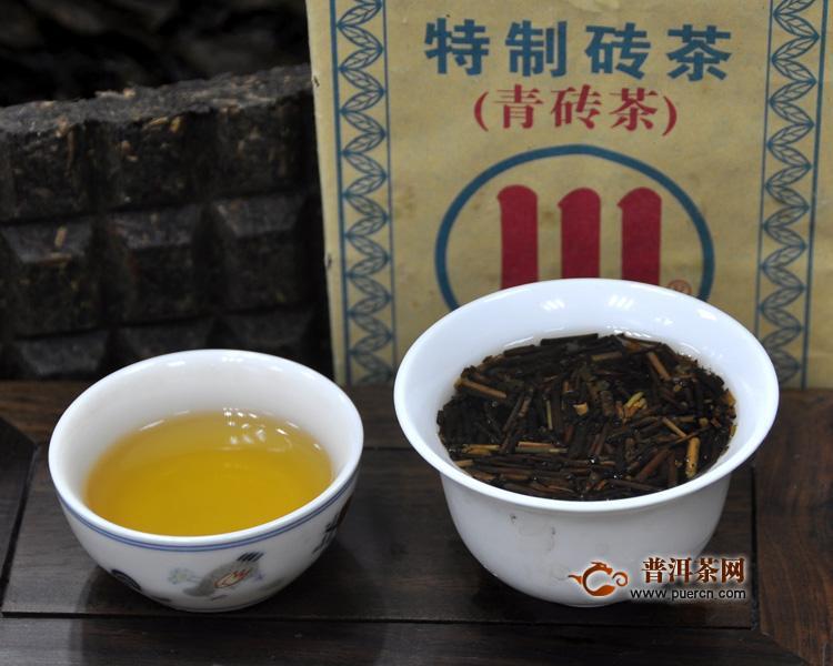 黑茶有哪些品种