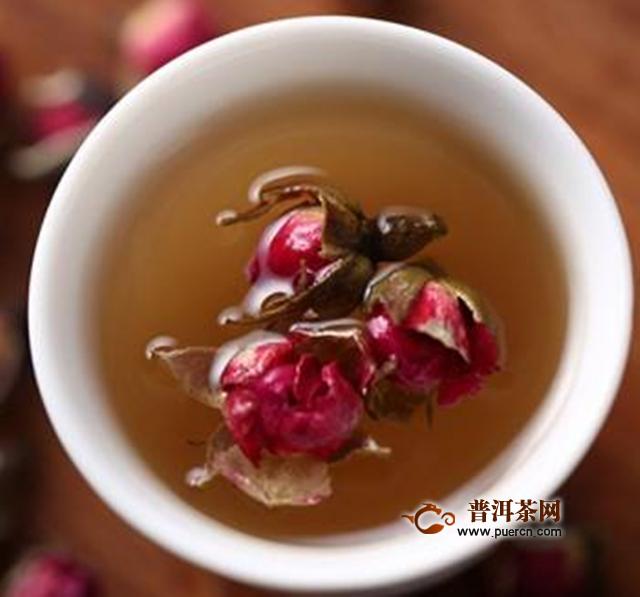 金边玫瑰花泡水喝有什么功效