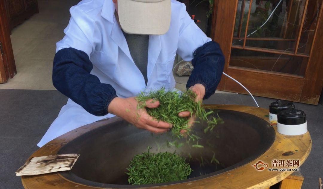 峨眉山茶制作工艺