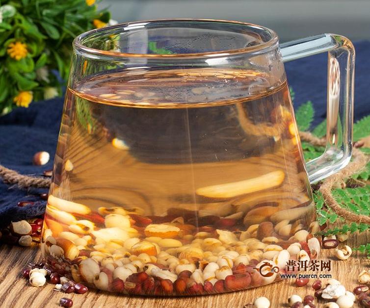 红豆薏米芡茯茶功效