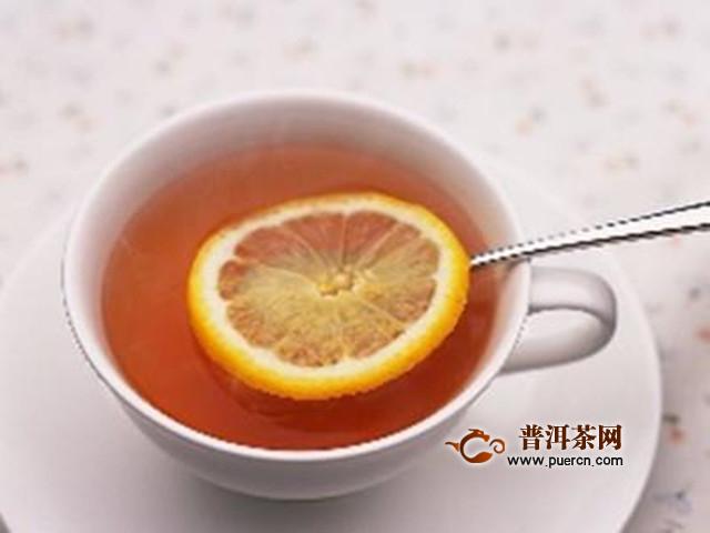 柠檬红茶功效