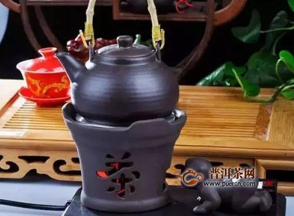 湖北老青茶,煮着喝味道更好!