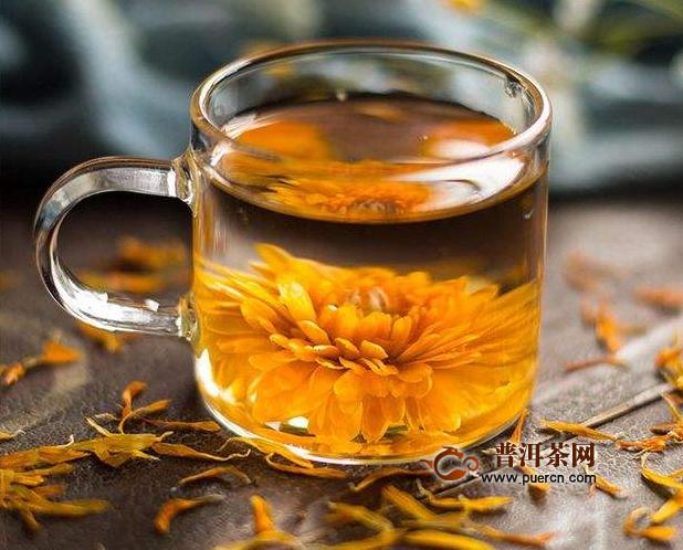 金盏花茶一次泡几朵?