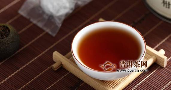 每天喝小青柑普洱茶的好处
