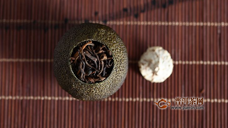 普洱茶小青柑口感描述
