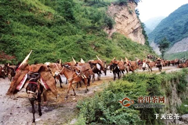 沱茶是马帮文化的产物