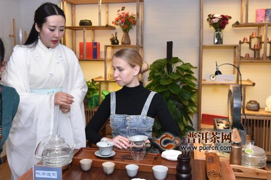 """""""让宜宾茶香飘得更远""""宜宾国际留学生茶艺交流会举行"""