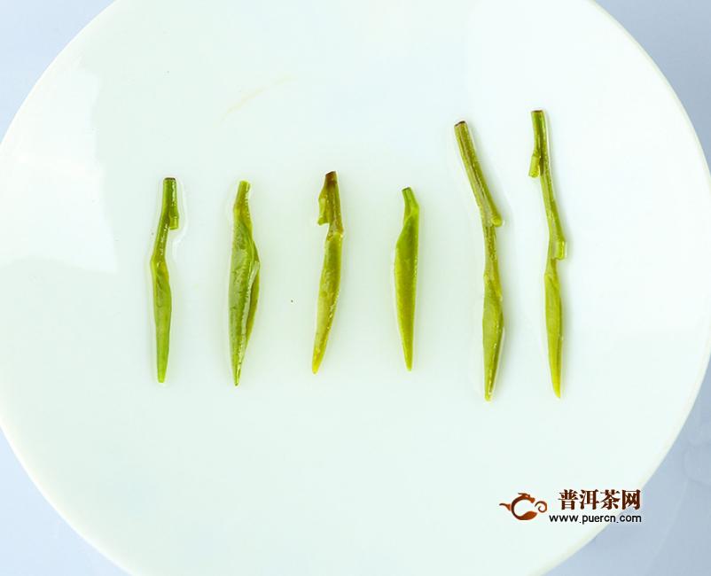 竹叶青茶的特点