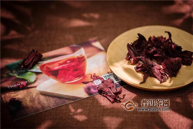 玫瑰茄花茶搭配,和蜂蜜、菊花等搭配不错!