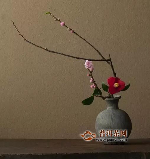 茶席上的花这么插,美到爆炸!