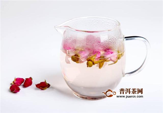 白茶加玫瑰花的功效