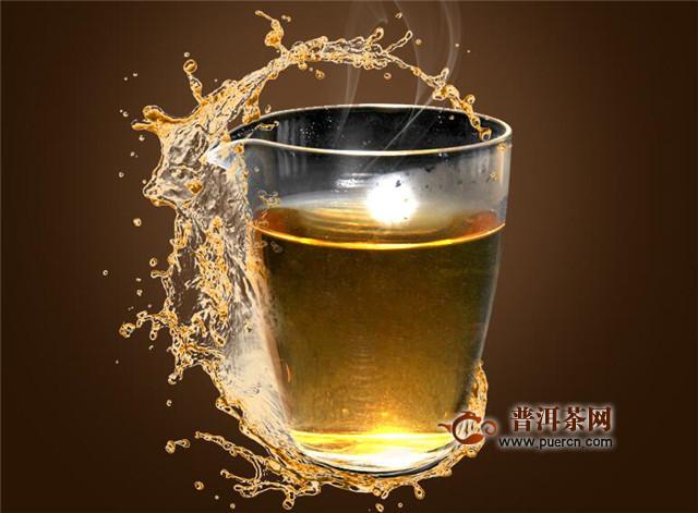 老白茶用保温杯焖