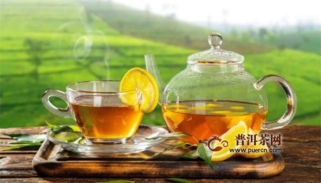 柠檬配什么花茶