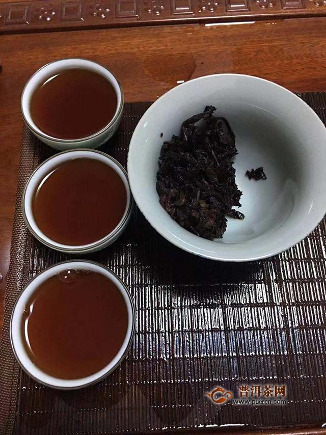 当期惊艳,后期可期——2019七彩云南吉岁子鼠熟茶357克试用报告