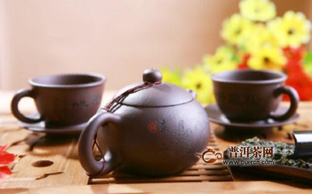 用紫砂壶怎样冲泡普洱茶