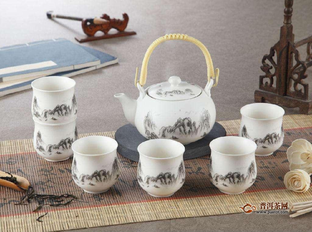 陶瓷茶具的种类及特点