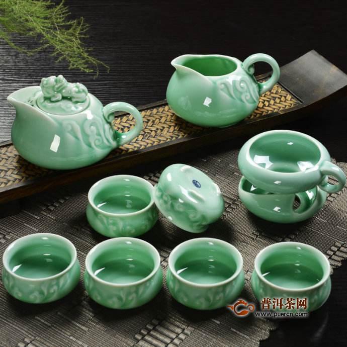 青瓷茶具简介