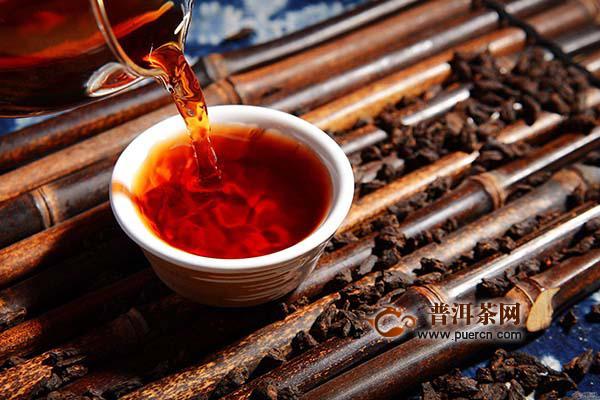 不戴金花的黑茶有什么好处