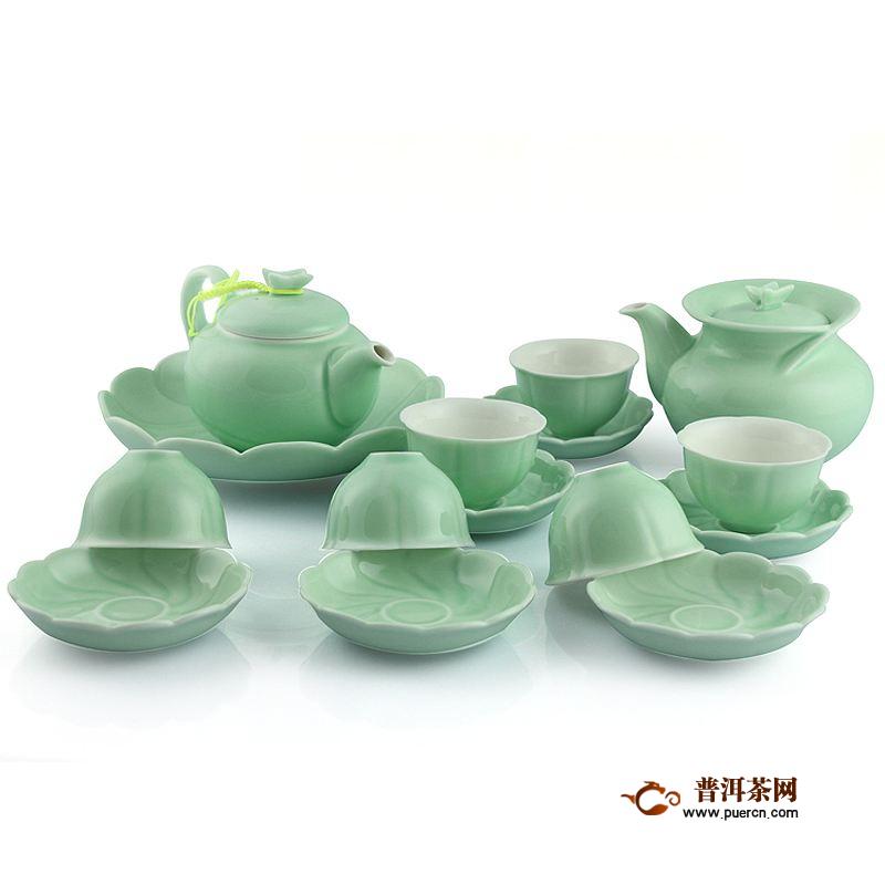 龙泉青瓷茶具