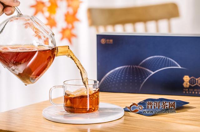 中茶小粒茶:保温杯里的大健康