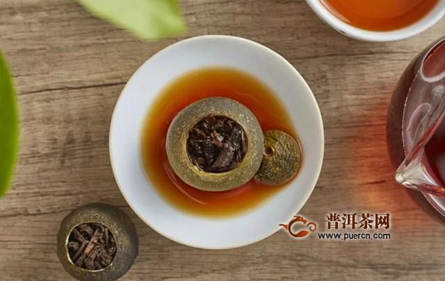 柑普茶是什么味道