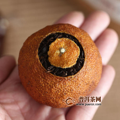 大红柑普茶冲泡方法