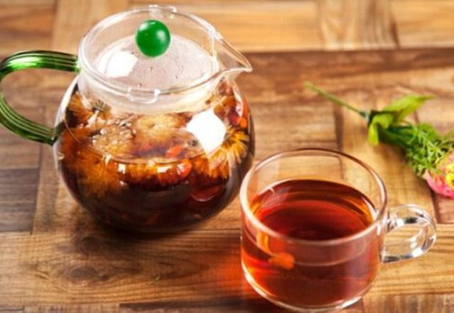 菊花和普洱茶一起喝有什么好处