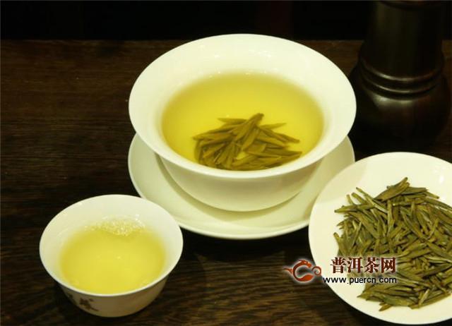 黄茶茶汤颜色,有杏黄型和橙黄型!