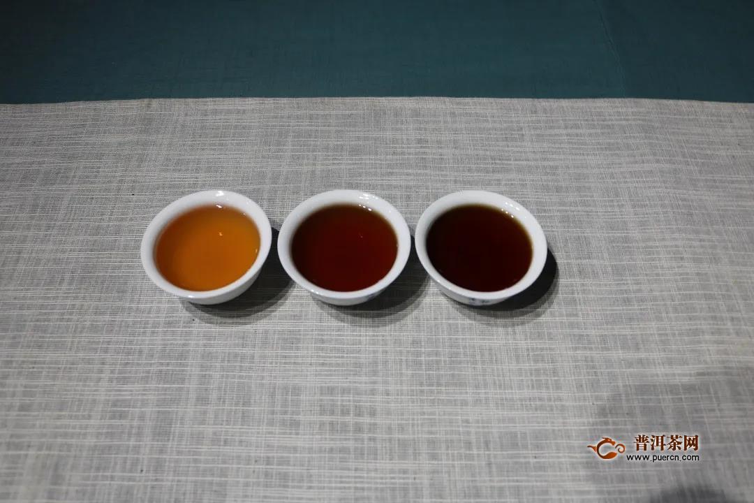 澜沧古茶2010年0081熟PK陈升号2010年复原昌熟