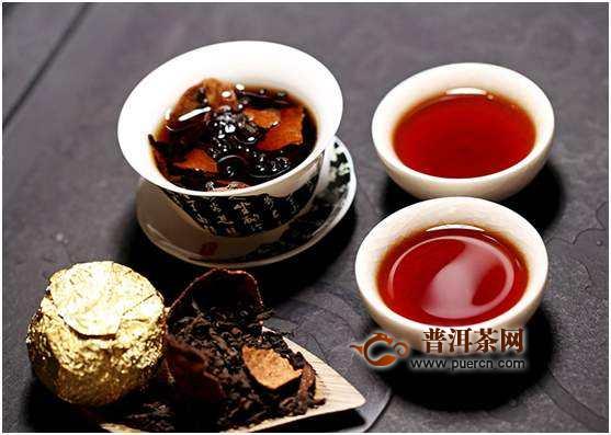 陈皮普洱熟茶的功效与作用
