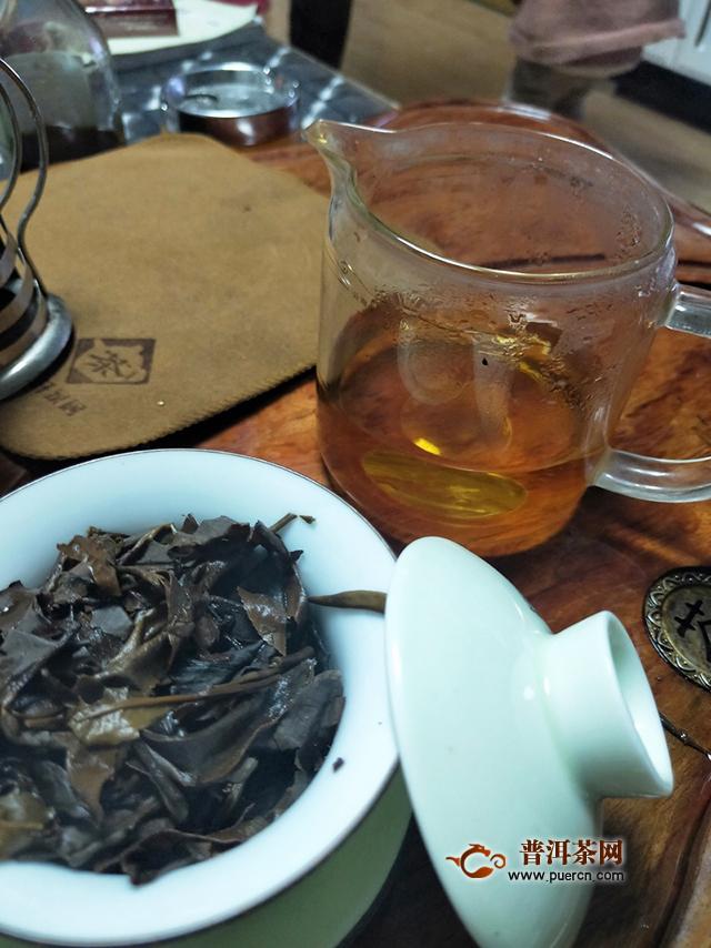 2019年勐海本木古茶业古小白美人珠:喝出了苦和甜,清和涩