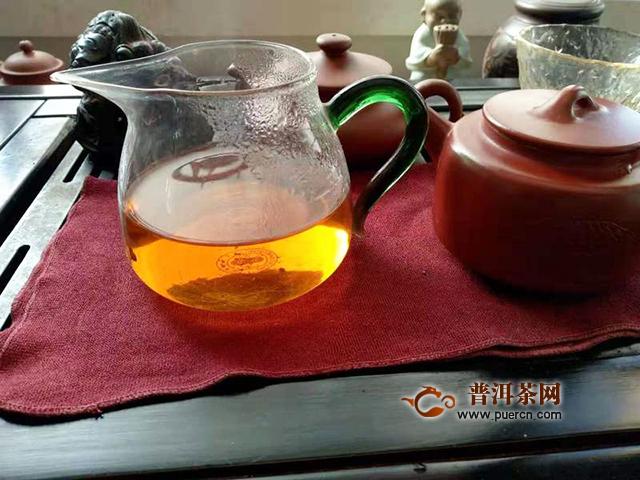 2019年勐海本木古茶业古小白英雄茶:茶气足,体感明显