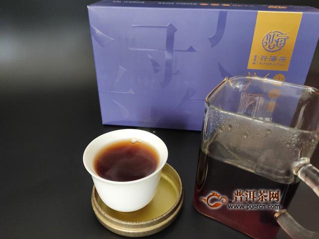 【茶言观色】遇见兴海茶业2019年兴海小金砖