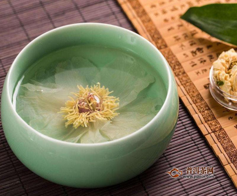 喝牡丹花茶的作用