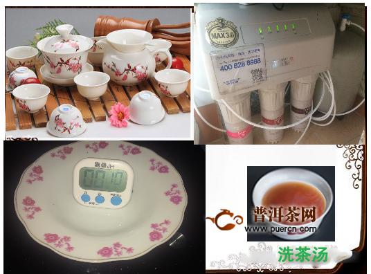 2017年大益凤凰格格鸡年生肖饼熟茶100g品鉴